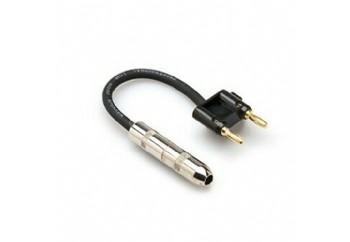 Hosa Technology BNP-116 BK - 1/4 TS (Dişi) Dual Banana hoparlör adaptörü