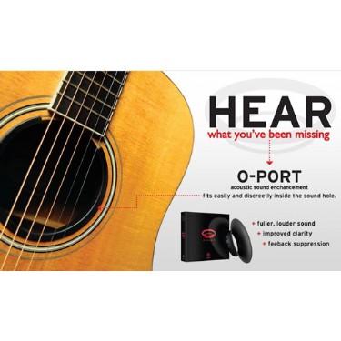 Planet Waves O-Port Acoustic Guitar Tone Enhancer