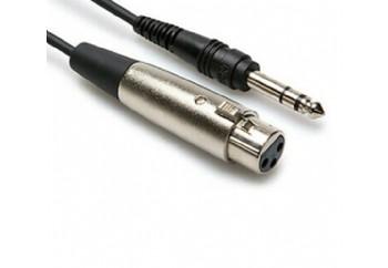 Hosa Technology STX-105F  STX-105F (1,5 metre) - 6.35 mm. Stereo (Erkek) - XLR (Dişi)