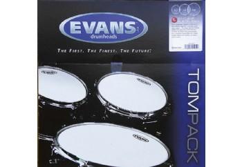 Evans G1 Clear Fusion Tom Pack ETP-G1CLR-F - Tom Derisi Seti