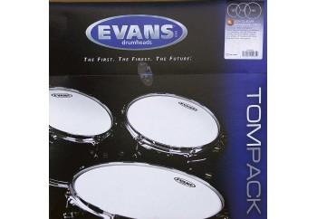 Evans Genera G2 Clear ETP-G2CLR-S Standard Head Set - Tom Derisi Seti