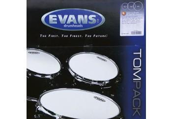 Evans Genera G2 Clear ETP-G2CLR-F Fusion Head Set - Tom Derisi Seti