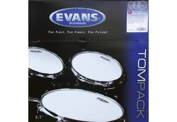 Evans Genera G1 Clear ETP-G1CLR-S Standard Head Set - Tom Derisi Seti