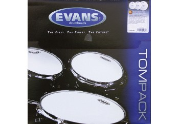 Evans Genera G2 Coated ETP-G2CTD-S Standard Head Set - Tom Derisi Seti