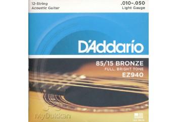 D'Addario EZ940 - Light Takım Tel