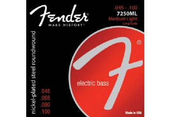 Fender Super 7250ML Bass Strings Takım Tel - Bas Gitar Teli 045-100