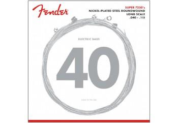 Fender Super 72505L Bass Strings Takım Tel - 5 Telli Bas Gitar Teli 040-115