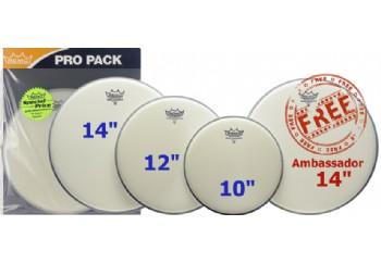 Remo ProPack Ambassador Coated Fusion PP-0110-BA PP-0110-BA - Deri Seti