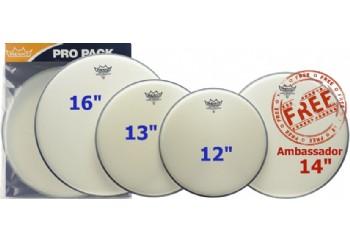 Remo Ambassador Coated Standard Propack Plus PP-0112-BA - Deri Seti