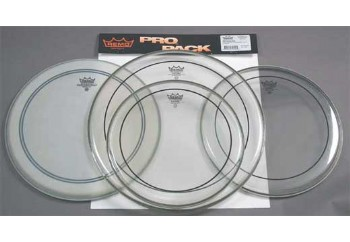 Remo Pinstripe Batter Drum Head ProPack Clear PP-0312-PS - Deri Seti
