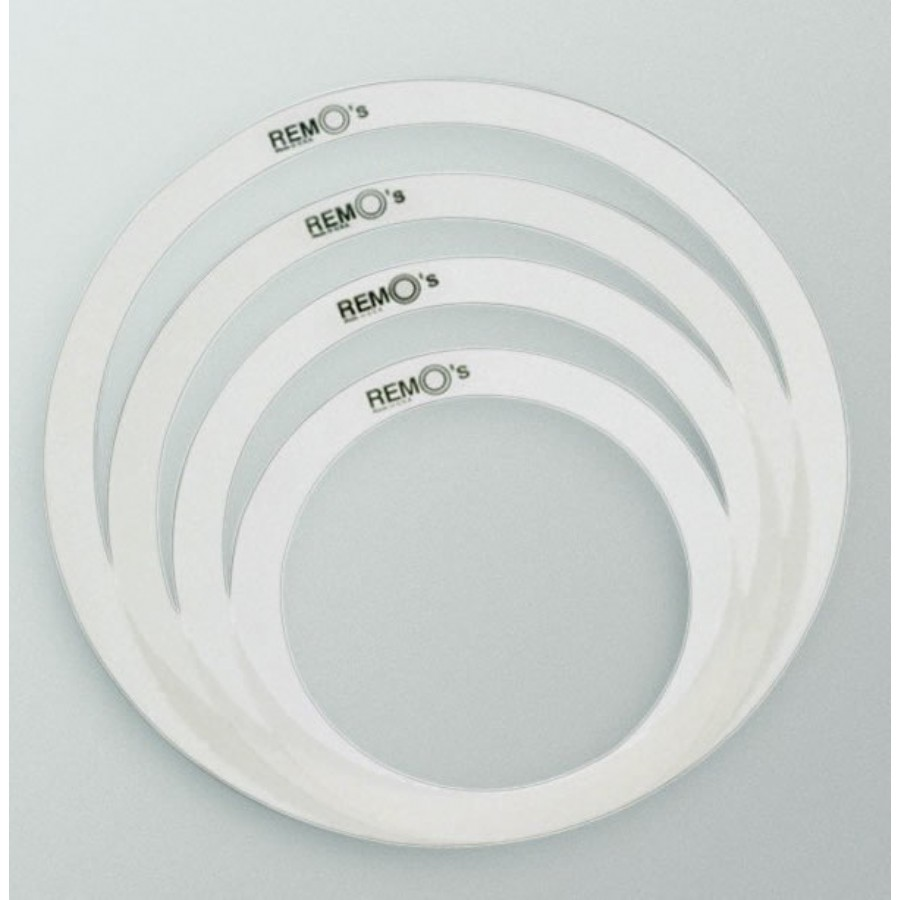 Remo RemOs Tone Control Rings Pack RO-0246-00