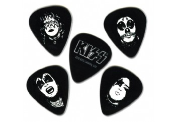 Planet Waves Kiss Logo Guitar Picks Medium - 10 Adet - Pena