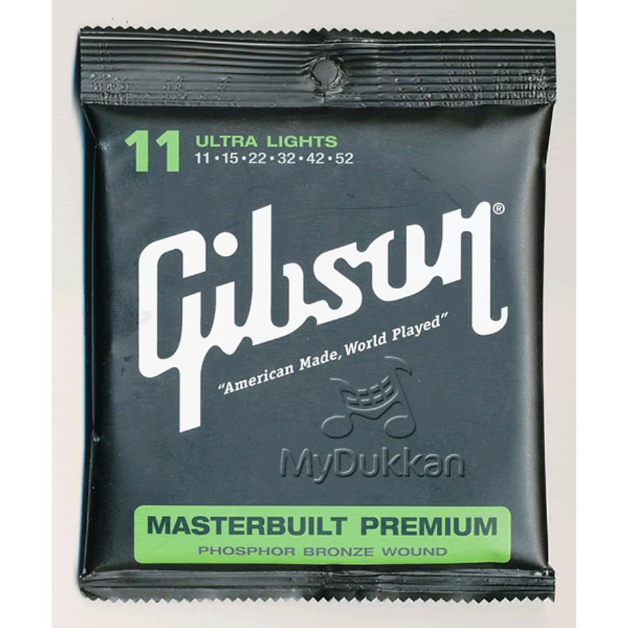 Gibson SAG-MB11 Masterbuilt Premium Phosphor Bronze