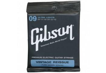 Gibson SEG-VR9 Standard 9's Vintage Reissue Pure Nickel Takım Tel - Elektro Gitar Teli 009-042