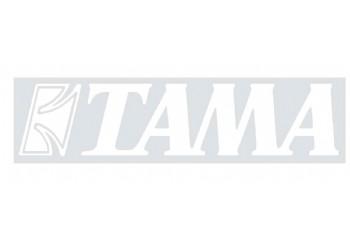 Tama TLS100 Logo Stickers Beyaz - Davul Derisi İçin Sticker