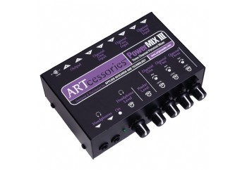 ART PowerMIX III - 3 Channel Personal Mixer - Stereo Mikser