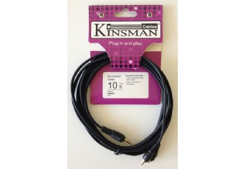 Kinsman LPAC01 Soundcard Audio Cable 3 Metre