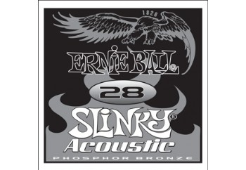 Ernie Ball Slinky Acoustic Single Strings 028 Tek Tel - Akustik Gitar Tek Tel