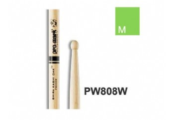 Promark PW808W Japanese Oak 808 Wood Tip Drumsticks Standart  - Baget