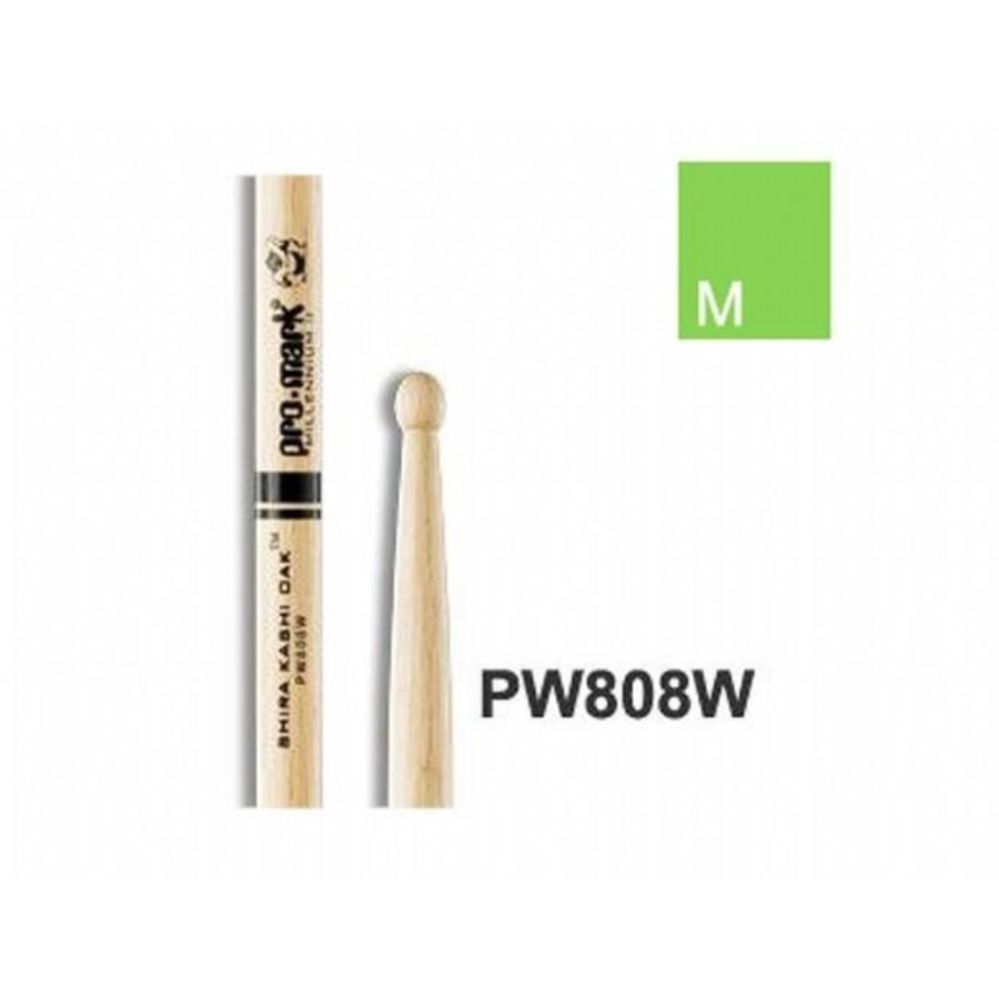 Promark PW808W Japanese Oak 808 Wood Tip Drumsticks