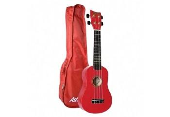 Ashton UKE100 Soprano Red