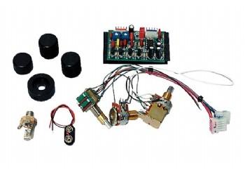 Seymour Duncan 2-Band Elektronik STC-2P - Bas Gitar Aktif Devre