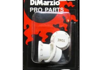 DiMarzio DM2111 Strat Replacement Knob Set Beyaz - Potans Düğmesi (3 Adet)