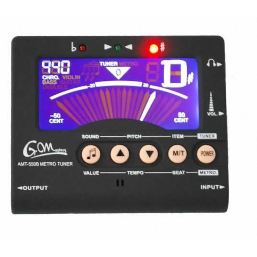 G.Masters AMT-550 B Dijital Tuner Metronom