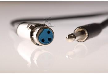 G.Masters GM-13 - Mikrofon Kablosu XLR (Dişi) - 6.35 mm. Mono (Erkek) (0,5 mt)