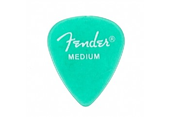Fender California Clear Picks Surf Green - Medium - 1 Adet