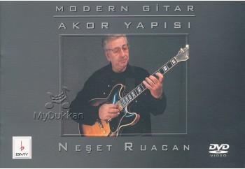 Modern Gitar Akor Yapısı DVD'li Kitap - Neşet Ruacan