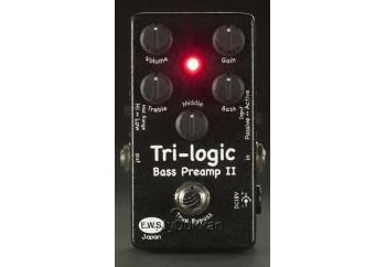E.W.S. Tri Logic Bass Preamp II - Bas Gitar Pedalı