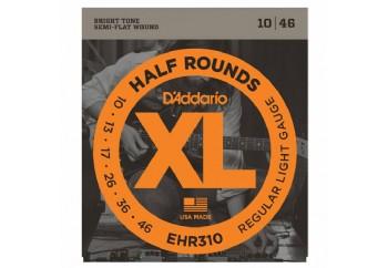 D'Addario EHR310 Half Rounds, Regular Light, 10-46 Takım Tel - Elektro gitar teli 010-046