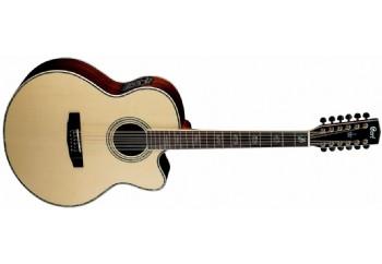 Cort CJ10X-12 NAT - 12 Telli Elektro Akustik Gitar