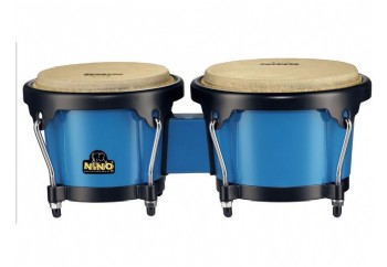 Nino 17 ABS Bongos Plus Blue Shell / Black Hardware - Bongo