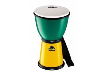 Nino 18 ABS Djembes Green/Yellow - Çocuklar için Djembe