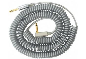 Vox Vintage Coiled Cable Gümüş - Enstrüman Kablosu (9m)