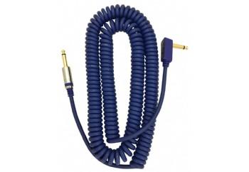 Vox Vintage Coiled Cable Mavi - Enstrüman Kablosu (9m)