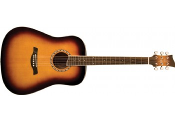 Jay Turser JTA-450S ACS - All Cherry Sunburst - Akustik Gitar