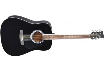 Jay Turser JJ45 Acoustic Guitar Starter Pack BK - Siyah - Akustik Gitar Seti