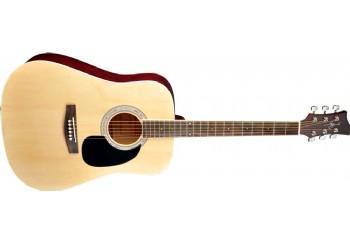 Jay Turser JJ45 Acoustic Guitar Starter Pack NT - Natural - Akustik Gitar Seti