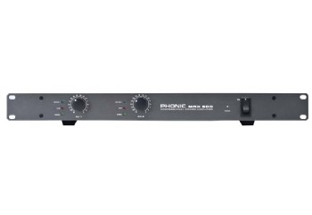 Phonic MAX 500 240 Watt Power Amplifier - Power Amfi