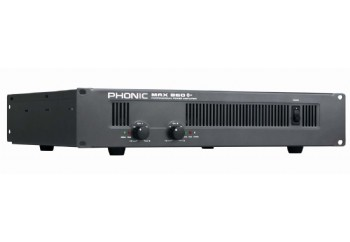 Phonic MAX 860 Plus 600 Watt Power Amplifier - Power Amfi