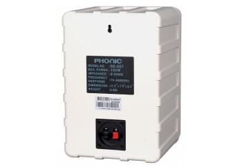 Phonic SE207 2-Way Molded Speaker Beyaz - Duvar Tipi Hoparlör