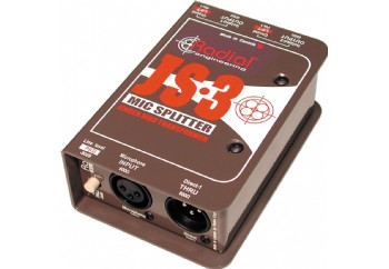 Radial Js3 Passive Microphone Splitter Direct Box - Mikrofon Splitter