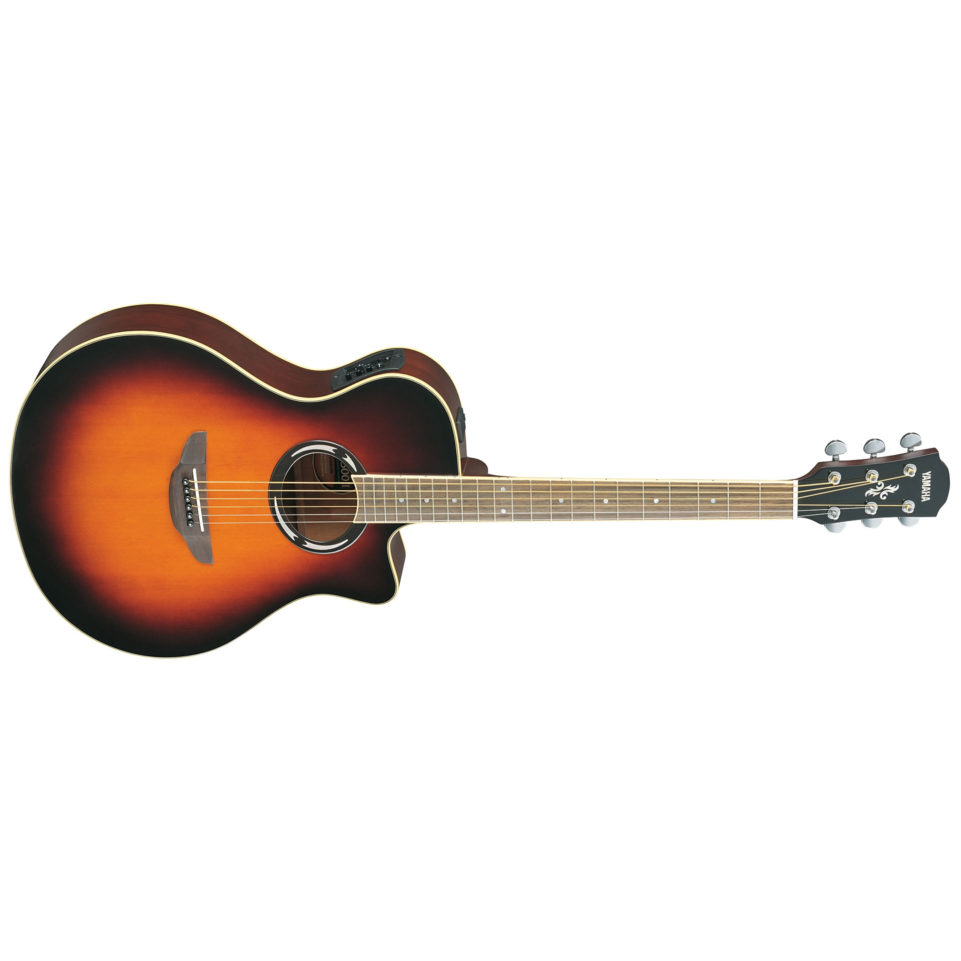 Yamaha Apx500ii Natural Elektro Akustik Gitar Mydukkan