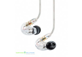 Shure SE215-CL-UNI-EFS Sound Isolating Earphones Clear - Ses İzolasyonlu Kulaklık