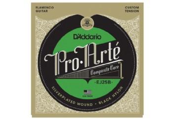 D'addario EJ25B Composites Flamenco Black Nylon Takım Tel - Flamenko Gitar Teli