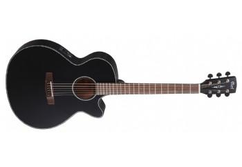 Cort SFX-E BKS - Black Satin - Elektro Akustik Gitar