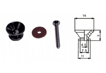 DR. Parts SP1 BK - Siyah - Askı Pin